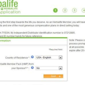 how to become a herbalife distributor in south africa